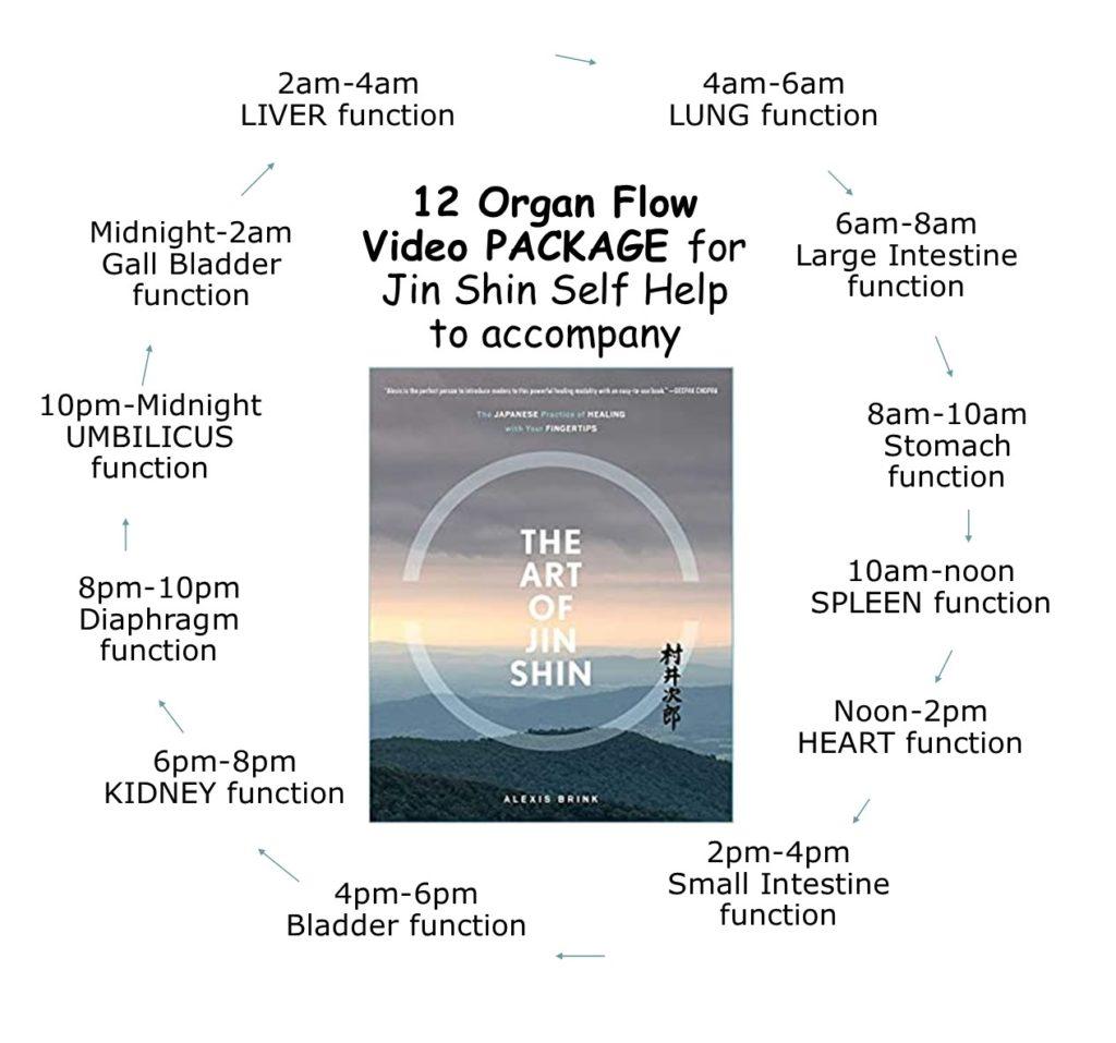 12 organ flows Jin Shin self help