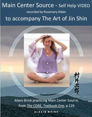 Main Center Jin Shin Self Help recorded by Rosemary Alden