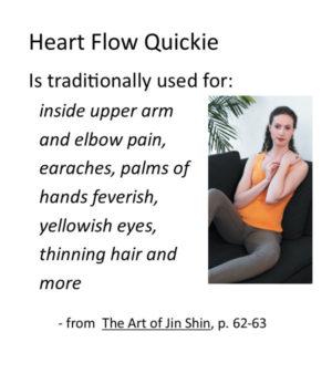 Jin Shin self help quickie Heart Flow video recording