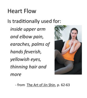 Jin Shin self help Heart Flow video recording