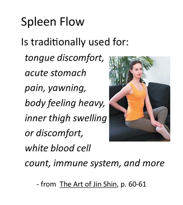 Jin Shin self help Spleen Flow video recording